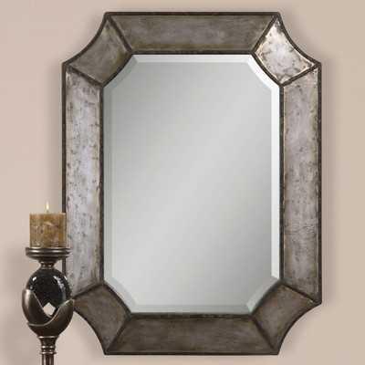 Maude Modern Accent Mirror - Wayfair
