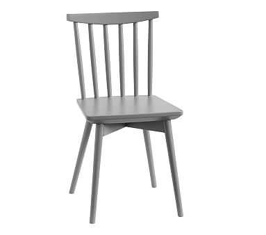 Spindle Play Chair, Charcoal, Standard UPS Delivery - Pottery Barn Kids