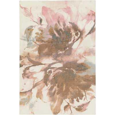 Madeline Rosey Blush Pink 5 ft. x 8 ft. Indoor Area Rug - Home Depot
