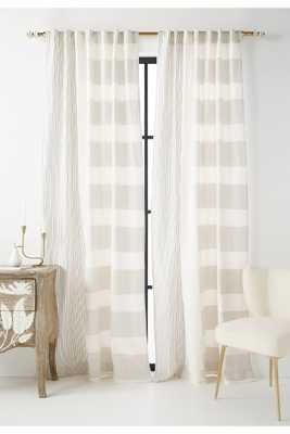 Woven Rayas Curtain - Anthropologie