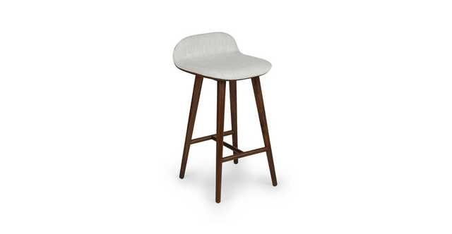 Sede Mist Gray Walnut Counter Stool ( set of two) - Article