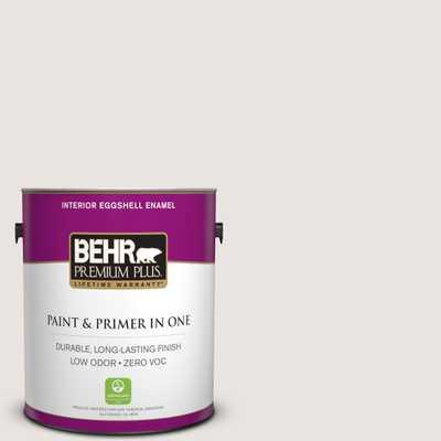 BEHR Premium Plus 1 gal. #ppl-44 French Heirloom Eggshell Enamel Zero VOC Interior Paint and Primer in One - Home Depot