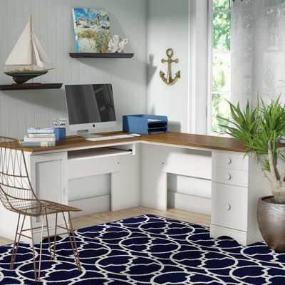 Pinellas Computer Desk with Keyboard Tray - Wayfair
