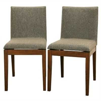 Moira Dining Chair in Brown (Set of 2) - eBay