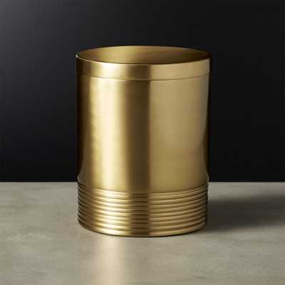 Bulletproof Small Gold Canister - CB2