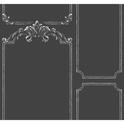 Magnolia Home Chalkboard Removable Wallpaper, Black/White - Home Depot