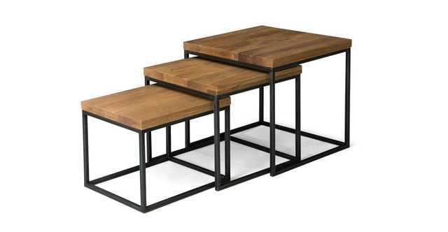 Taiga Oak Nesting Tables - Article