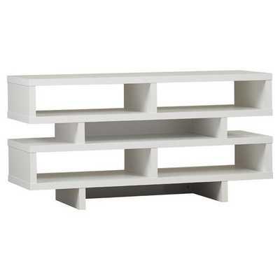 Dean TV Stand - White - AllModern
