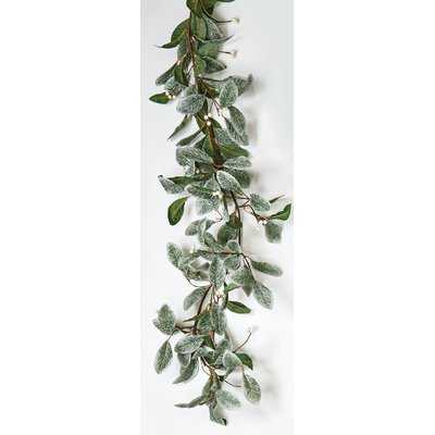 Magnolia Leaves Garland with Berries - AllModern