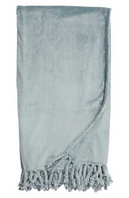 Nordstrom At Home Kennebunk Bliss Plush Throw, Size One Size - Blue - Nordstrom