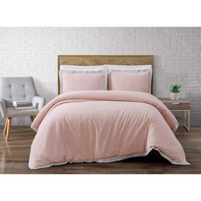 Wilson Pink Full/Queen Comforter Set - Home Depot