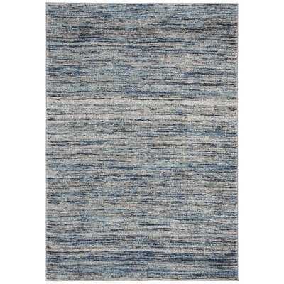 Woodcreek Blue/Gray Area Rug - Wayfair