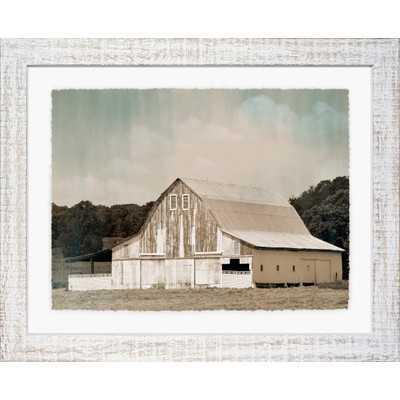 Farmhouse Framed Print II - Wayfair