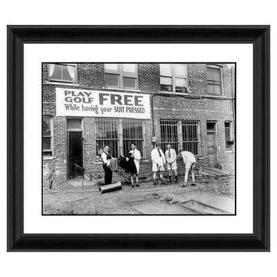 Free Golf Framed Photographic Print - Wayfair