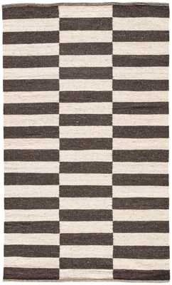 Casey Rug, 5'x 8', Brown - Cove Goods