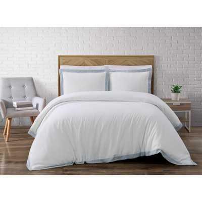 Wilson White King Comforter Set - Home Depot