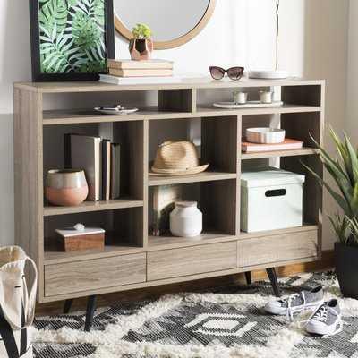 Cordele Geometric Bookcase - AllModern