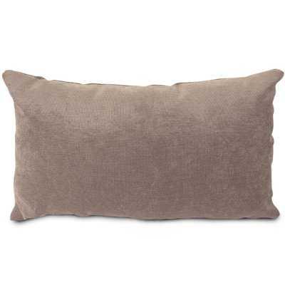 Edwards Velvet Lumbar Pillow - AllModern