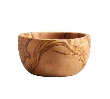 Olive Wood Bowl - Pottery Barn