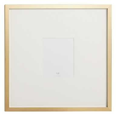 Metallic Gallery Frames, 8x10 Oversized, Gold - Pottery Barn Teen