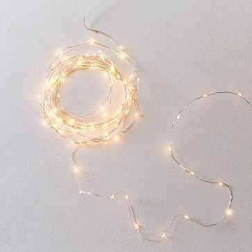 LED String Lights, 10' - West Elm