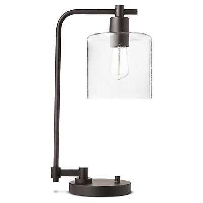 Threshold Hudson Industrial Desk Lamp, Black, Lamp Only - Vintage Appeal - eBay