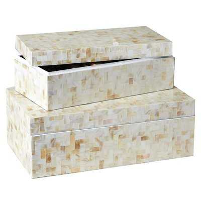 2 Piece Decorative Box Set - Wayfair