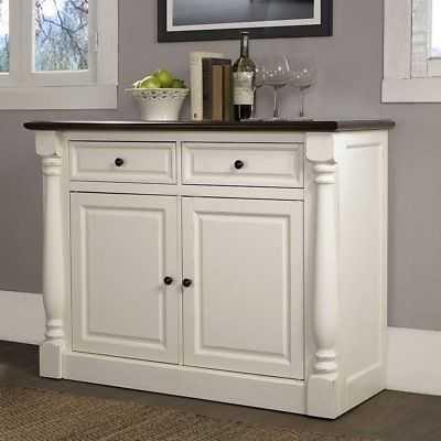 Crosley Furniture Shelby White Buffet - eBay