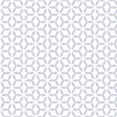 Symmetry Helice Silver Removable Wallpaper, Grey - Home Depot