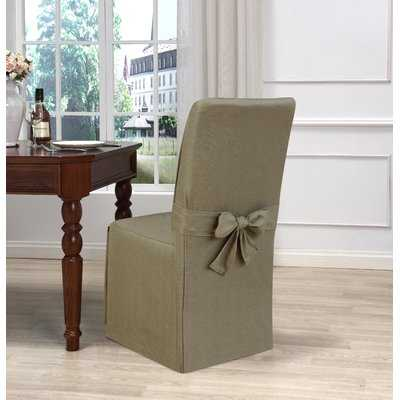 Box Cushion Dining Chair Slipcover - Birch Lane