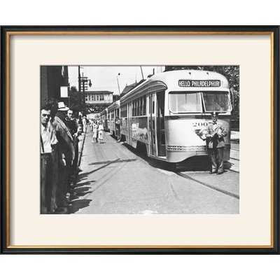 'Hello, Philadelphia!' Framed Photographic Print - Wayfair