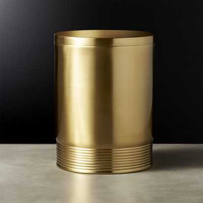 Bulletproof Large Gold Canister - CB2