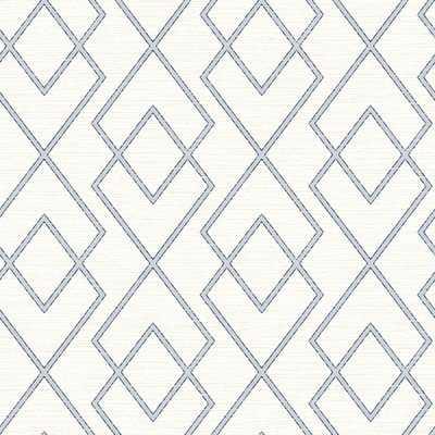 """Blaze Trellis 33' L x 20.5"""" W Wallpaper Roll - Birch Lane"""
