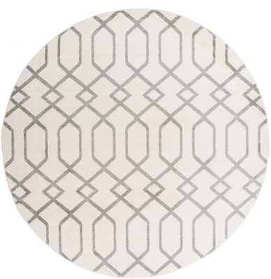 "Horizon 7'10"" Round Area Rug - Neva Home"