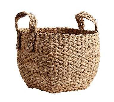 Ibiza Small Utility Basket, Honey - Pottery Barn