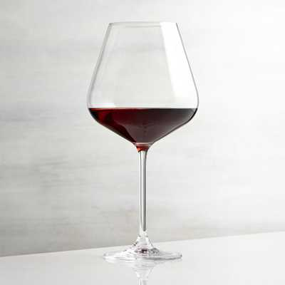 Hip Large Red Wine Glass - Crate and Barrel