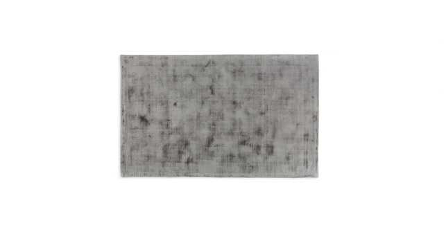 Crush Platinum Gray Rug 5 x 8 - Article