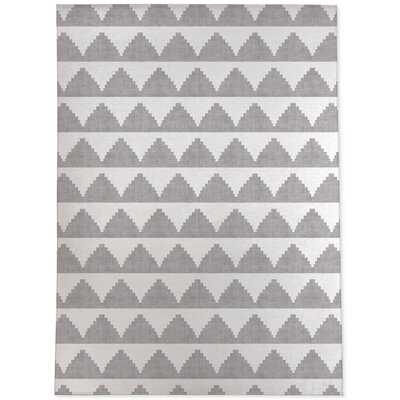 , Lash Grey-2X3 Lash Black And White Area Rug By Becky Bailey - Wayfair