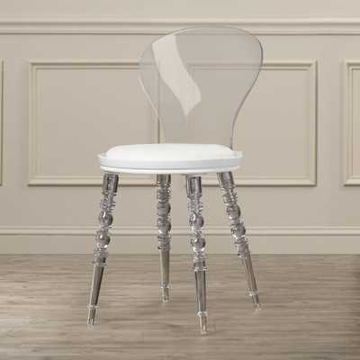 Therese Solid Back Side Chair - Wayfair