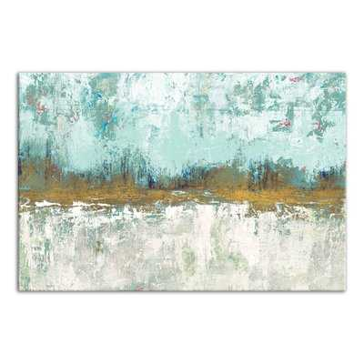 'Abstract Grove Landscape' Painting Print on Wrapped Canvas - Wayfair