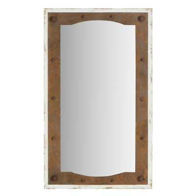 Aspire Home Accents Serena Farmhouse Wall Mirror - Home Depot