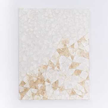 Capiz Wall Art, Crystal Formation - West Elm