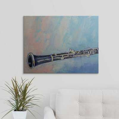 'Clarinet' by Michael Creese Painting Print - Wayfair