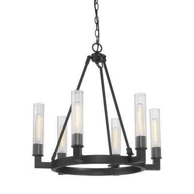 ARTCRAFT 6-Light Bronze Chandelier - Home Depot