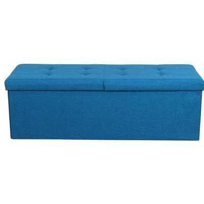 Smart Lift Top Upholstered Storage Ottoman - Wayfair
