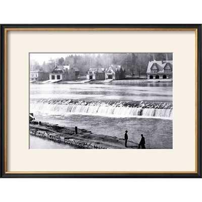 'Boathouse Row, Philadelphia, Pennsylvania' Framed Photographic Print - Wayfair