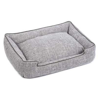 Harper Textured Woven Lounge Dog Bed - Wayfair