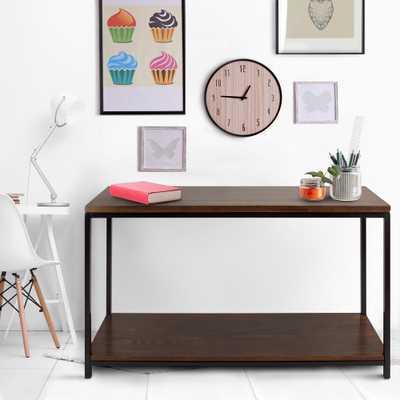 Metro Mocha (Brown) Console Table - Home Depot