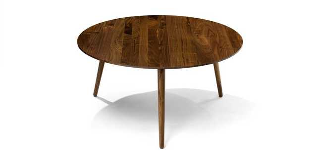 Amoeba Wild Walnut Coffee Table - Article