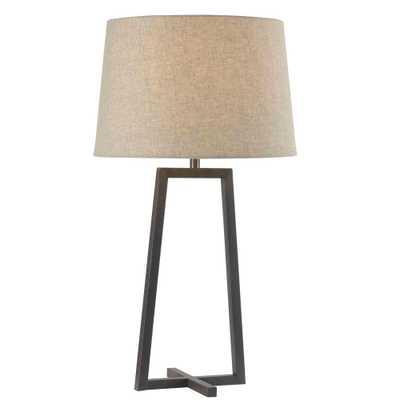 Kenroy Home Ranger 28 in. Oil-Rubbed Bronze Table Lamp - Home Depot